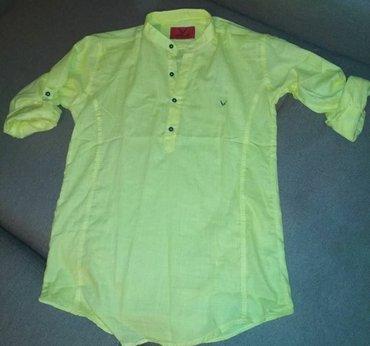 Льняные мужские рубашки в в Bakı