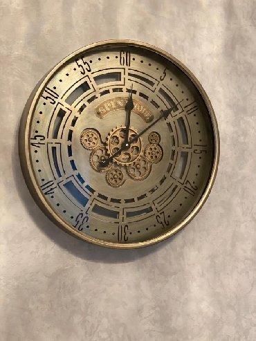 Divar saatı. Hərəkətli mexanizm. 59,5-7,8 sm