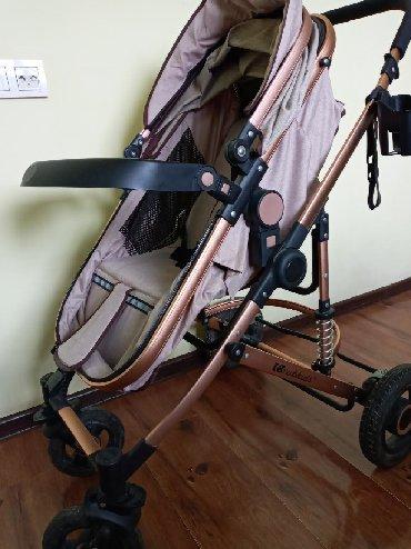 коляски детские трансформеры в Кыргызстан: КОЛЯСКА ДЕТСКАЯ, ТРАНСФОРМЕР, ПОЧТИ НОВАЯ!!!