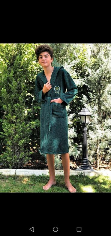 Домашние костюмы - Кыргызстан: Подростковые банные халаты  Производство Турция  Цена :1200  Вотсап н