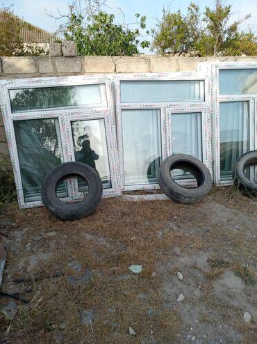 Plastik baklar qiymeti - Azərbaycan: 120×140 =85 manat bir plastik pencerenin qiymeti teze
