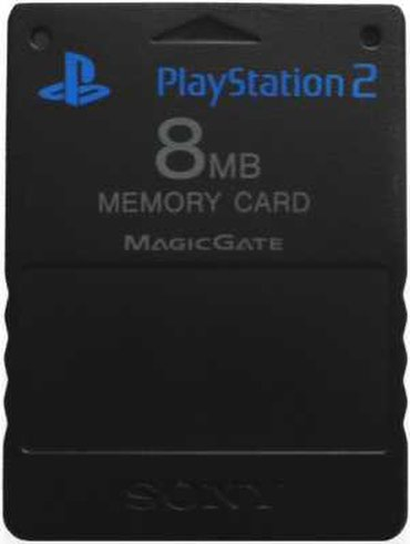 Sony PlayStation 2 memory card ( флешка ) 8mb 100% в Душанбе