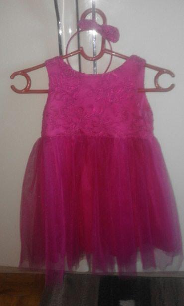 Svecana haljina za male princeze,nosena samo za rodjendan,vel pise - Pancevo
