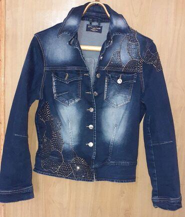 Джинсовая курточка 44-46 размер