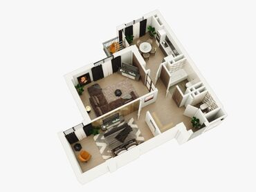 продаю квартира бишкек в Кыргызстан: Индивидуалка, 2 комнаты, 63 кв. м Бронированные двери, Лифт, Парковка