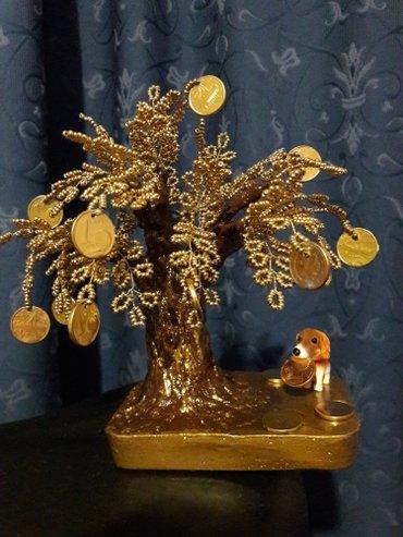 Ο πιστός φύλακας του δέντρου του χρήματοςπανέμορφο γλυπτό από χάντρες