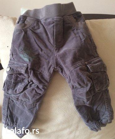 Termo somotske pantalone za uzrast 12 meseci, veci je model pa mogu i - Belgrade