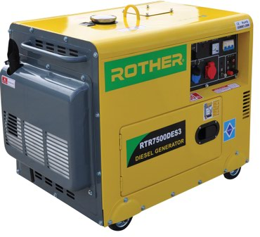 Дизельный генератор в шумозащитном в Бишкек