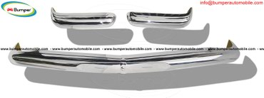 Mercedes Pagode W113 (1963 -1971) bumper stainless steel. in Banepa