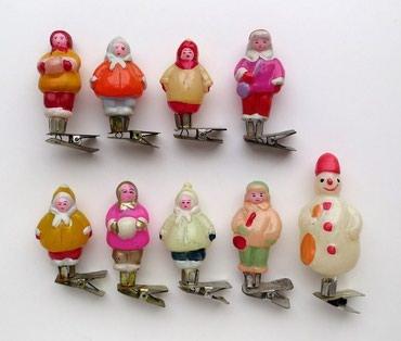 елочные игрушки в Кыргызстан: Куплю елочные игрушки СССР 40-50-60ых годов на прищепках и не только
