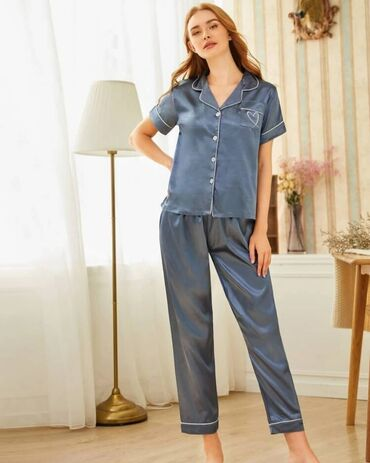 Продаю новые шикарные пижамы от SHEIN. Размеры S, M, L. Цена 1390 сом