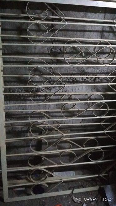 формы-для-декоративного-камня в Кыргызстан: Продаю б/у решетки 2 штуки для окон 1.4*1.2.В отличном состоянии