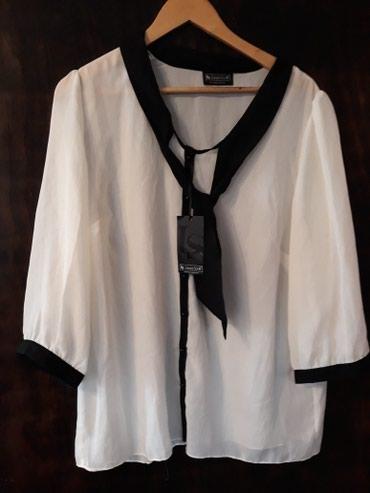 Prelepa bela bluza,vel.46 - Pozega