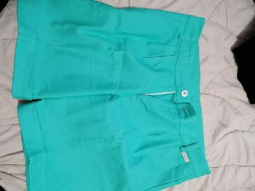 Zelene Katrin kratke pantalone, nenosene, vel. 38