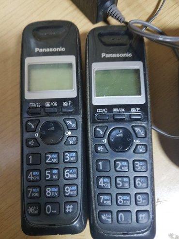 домашний радиотелефон Panasonic.(две трубки) в Бишкек