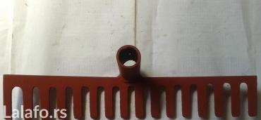Instrumenti | Nova Pazova: Prodajem grabulje sa slike,sa 16 zuba, debljine