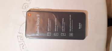 velosiped 16 dyuimov в Азербайджан: Новый Xiaomi Redmi Note 9 64 ГБ Синий