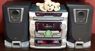 Музыкальный центр LGСостояние отличноеЗвук шикарныйРадио Аудио Кассета