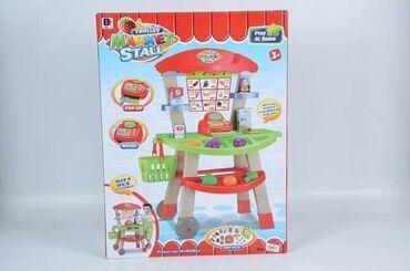 Mini market set 3000 dinara Mini market set sadrži u okviru postolja