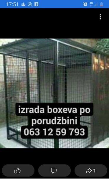 Razno po - Srbija: Boxevi za pse. izrada po porudzbini