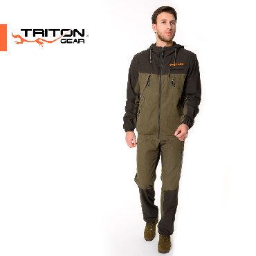 Спортивные костюмы - Кыргызстан: Спортивный, легкий и дышащий костюм BARS ⠀ Куртка средней длины