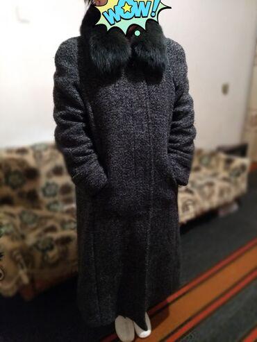 пальто лама в Кыргызстан: Продаю пальто Стриженная лама 2500с состояние отличное