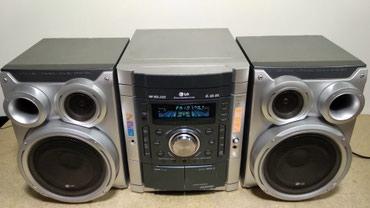 Продаю муз центр сост. отл. радио DVD MP3 CD AUX в Бишкек