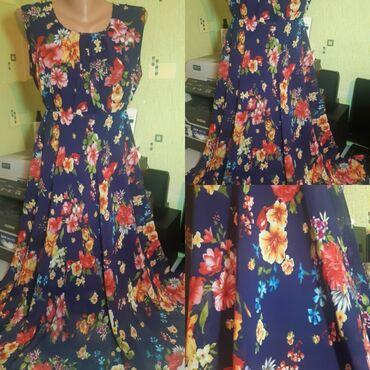 платье женское летнее в Кыргызстан: Продаю женское летнее платье, хорошего качество,спец.сшита на