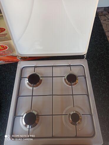 Электроника - Буденовка: Газ плита, квадратная, четырёхкамфорная, Турецкая