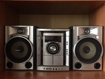 Bakı şəhərində Sony firmasının musiqili centr satılır.əla vəziyyətdədir. Dvd,