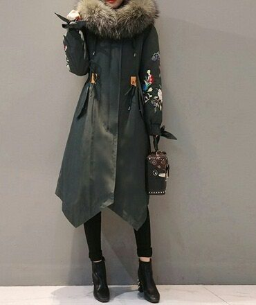 утепленное пальто в Кыргызстан: Пальто, парка утепленная, состояние новой. Носила пару раз, размер не