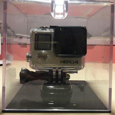 Видеокамера глазок - Кыргызстан: Продаю новую, ни разу не использованную камеру, GoPro Hero4 Black
