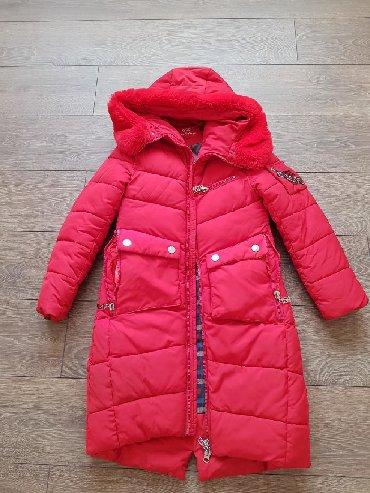 Продаю очень теплую куртку- пальто, ростовка 150см примерно на 11-13