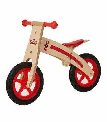 Продаём детский беговел деревянный - бренд ZUM(новый). Покупали в США