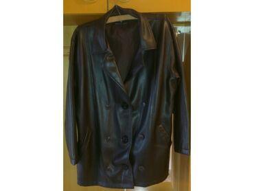 Tanja jakna od Eco kože nova nekorišćena cena extra povoljna, šaljem
