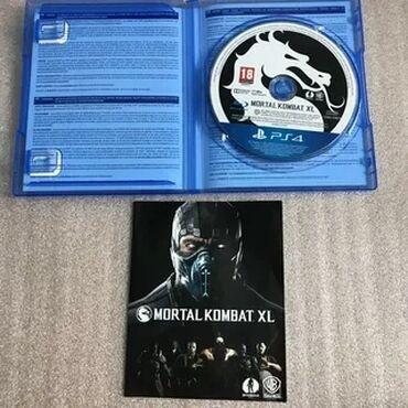 Диск Mortal Kombat XL для Ps4 Fat, Slim, Pro состояние идеальное