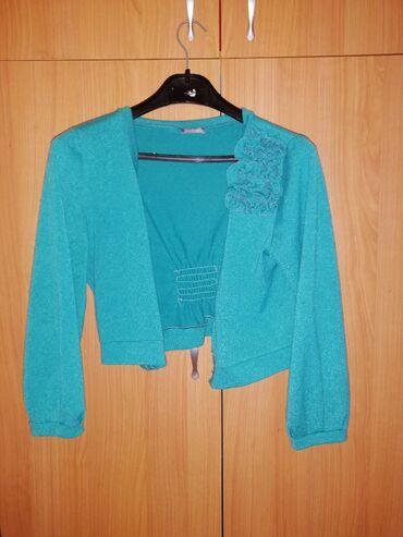 Plavi Dzemper i haljina BALEXTRA, komplet 700 din, samo dzemper 300
