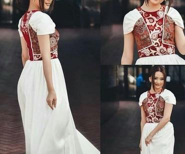 Продается платье, сшито в By Mery Nargiz. Идеально для кыз узатуу и