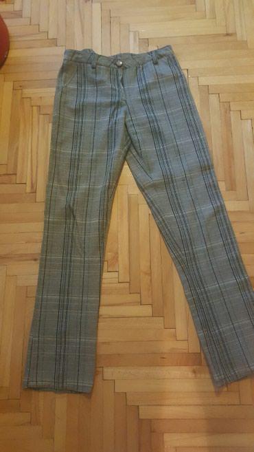 Karirane pantalone vel.40 - Pozarevac
