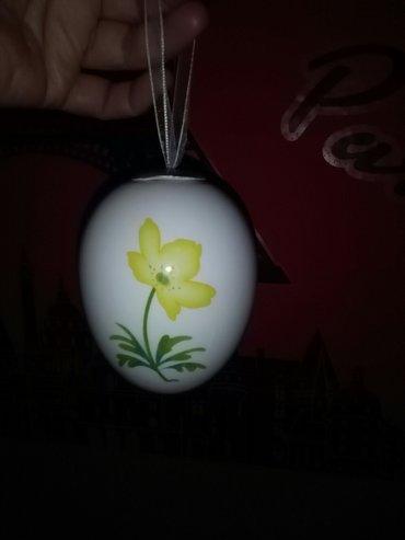Porculansko veliko jaje,za skupljace neobicnih stvari - Sombor