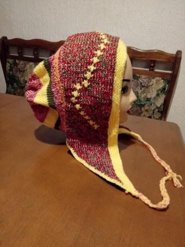 Pletena jaknica - Srbija: Pletena zenska kapa