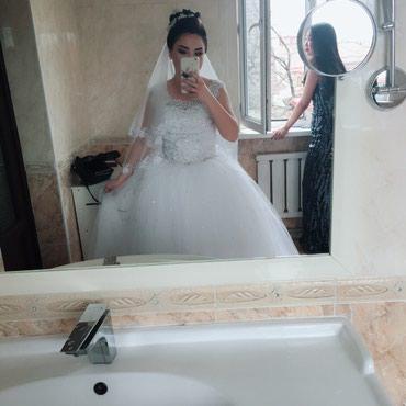Счастливое свадебное платье! в Бишкек