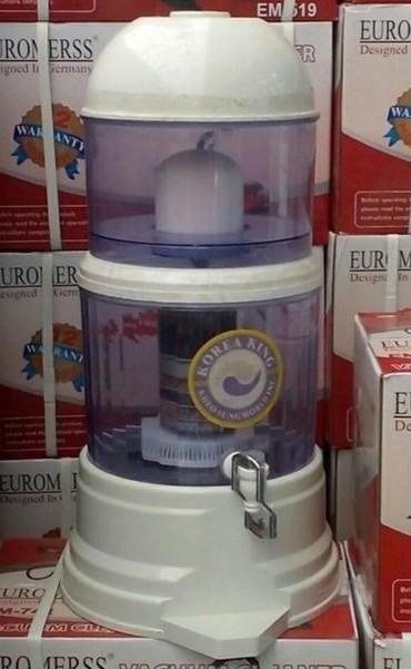 Tovuz şəhərində Su filteri,tezedi,2daşdan süzülür,14litr,52m,en aşaği qiymetle