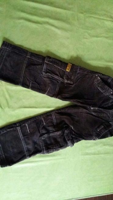 Somotske pantalone za decake vel. 5 god.podesive u struku.Polovne i - Petrovac na Mlavi