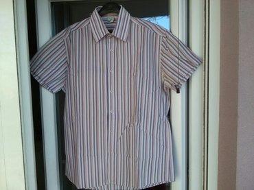 Odlična muška košulja, Sorgaro brend, veličina L,  za leto, prijatna z - Pozarevac