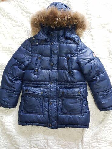 moncler jakne - Azərbaycan: Куртка ( синтепон) на мальчика Moncler. 5-6лет. Съемный капюшон