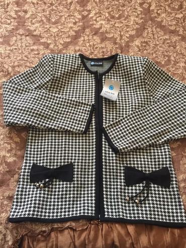 трикотажные кофты оптом в Кыргызстан: Трикотажный пиджак 44 размер новый