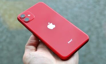 IPhone 11 128gb red 10/10 condition box hands free charger and