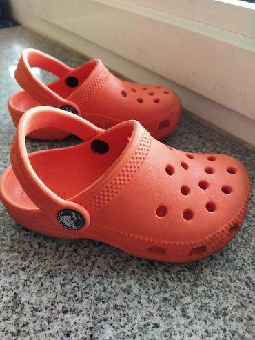 Crocs фирменные, размер 26, в хорошем состоянии! Больше детской обуви