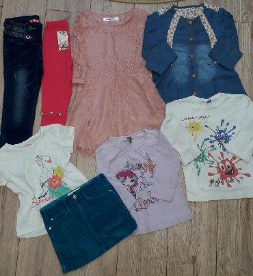 Фирменные вещи на девочку 5-6 лет.Zara,G.J. Sela. Всё в отличном